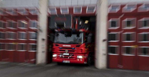 In flames villa in Ängelholm – one person injured