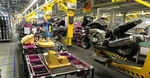 In the 50's. Anniversary year : BMW produces three million motorcycles in Spandau