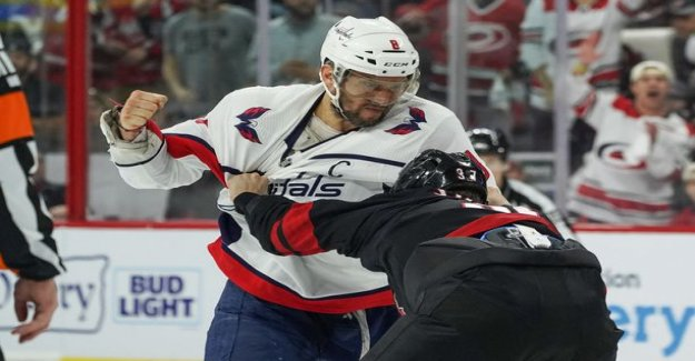 Incomprehensible comments Alexander Ovetshkinin fight the hype - former NHL tough guy pulled Sebastian Aho says: He wouldn't be playing anymore hockey in this series
