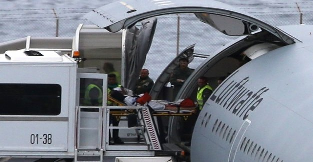 Injured German tourists fly from Madeira