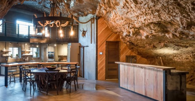 Insanely live: this house is fully rock-hewn (and is on sale for 2.5 million euros)
