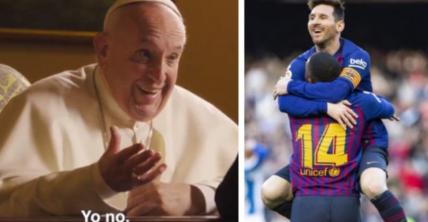 Is Lionel Messi God? Pope Francis has his own opinion about