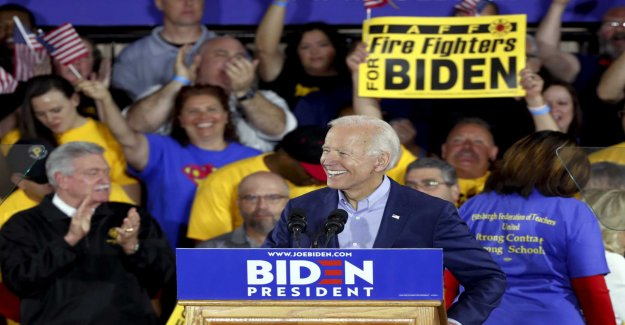 Joe Biden, launched the campaign in the tray