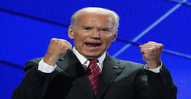 Joe Biden sets up in the presidential election