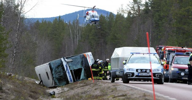 Judgment delivered today on the bus crash in Sweden