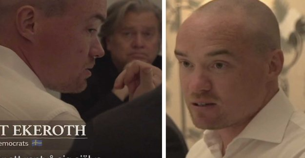 Kent Ekeroth in the exclusive film: the SD use of the EU to become housebroken