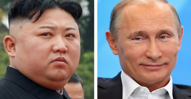 Kim Jong-un to visit in April, Putin