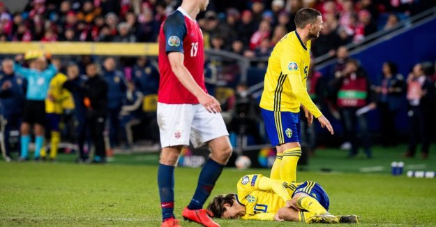 Kristoffer Olsson gone for at least three weeks
