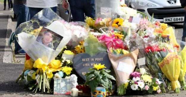 Last respects for slain journalist McKee