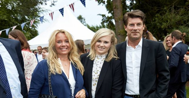 Laudrups daughter has been married