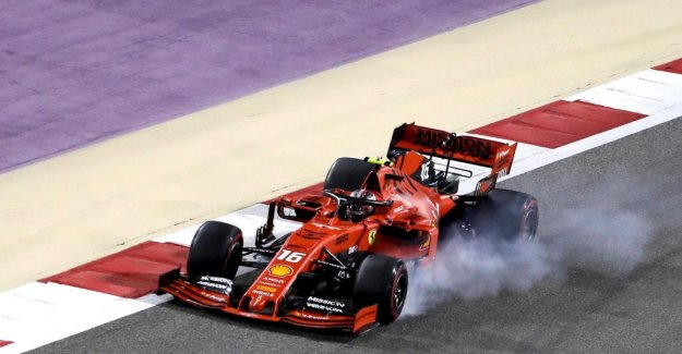 Leclerc lost the victory with engine problems