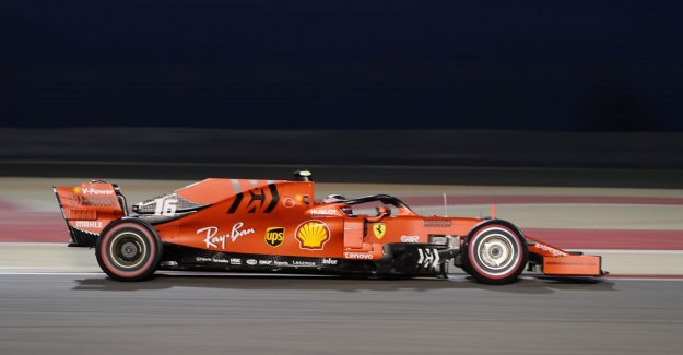 Leclerc rushes with Ferrari in Bahrain to the first pole of F1 career