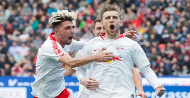 Leipzig is storming towards the Champions League