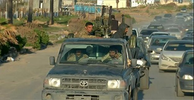 Libya: government forces launch a counter-offensive