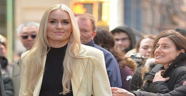 Lindsey vonn was released by the video collection look at the fierce pace - talking about drugs: my Mother fed me gold fish