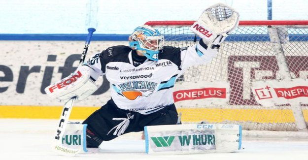 Lion watch Jussi Olkinuora enters the KHL, though!