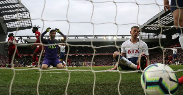 Liverpool is a good way: Alderweireld makes unfortunate own-goal for victory 'Reds' in the slot