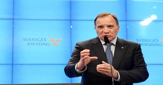 Löfvens branduppmaning to the Swedish people: be careful