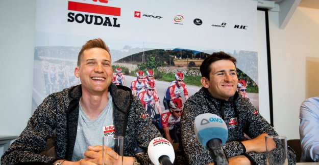 Lotto-Soudal draws with Wellens and Benoot as spearheads to the Round: the most Beautiful race of the spring