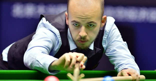 Luca Brecel open world CHAMPIONSHIP snooker against Englishman Wilson, and later follows probably triple world champion