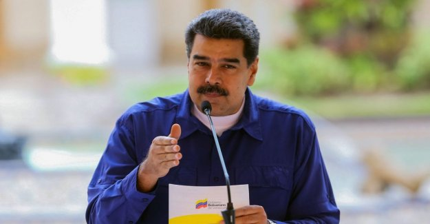 Maduro let in emergency aid from the Red cross
