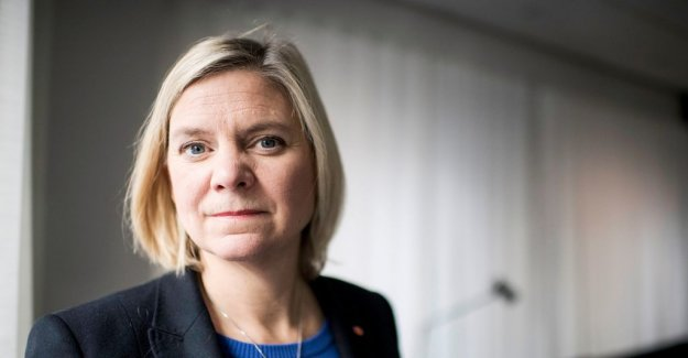 Magdalena Andersson to talk money-laundering at the IMF meeting