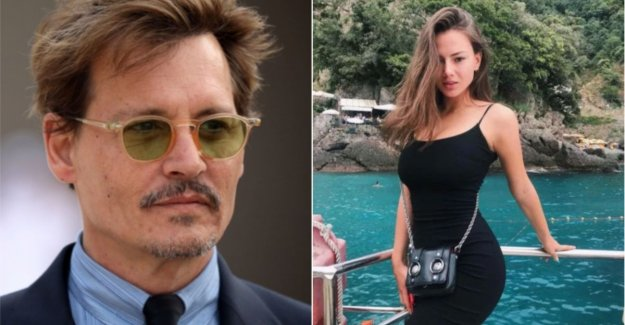 Makes Johnny Depp all the new wedding plans with a Russian dancer?
