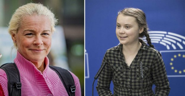 Malena Ernman on the daughter's miljökamp: Greta is happy