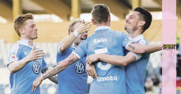Malmö won the title after Rieks goal