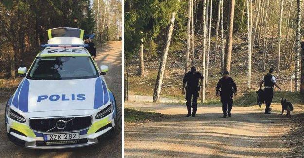 Man arrested for överfallsvåldtäkt against the girl