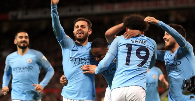 Manchester turns blue: City re-the leader in Premier League after victory in stadsderby