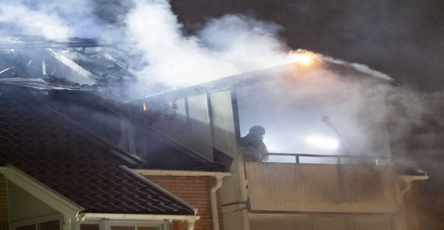 Many evacuated in case of fire in multi-family