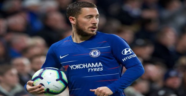 Marca: chelsea's biggest star Eden Hazard will move to Real Madrid left accord – next, the aim turns to Paul Pogbaan