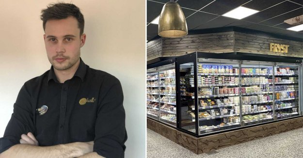 Martin stopped the shoplifters – then stormed the 40 young people Icabutiken