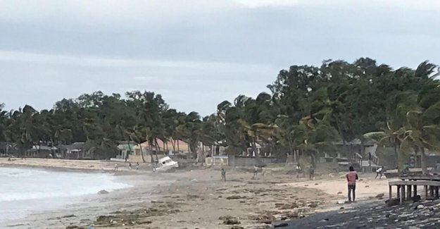 Mass destruction in Mozambique after cyclone