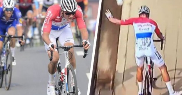 Mathieu van der Poel tackles everyone again with stuntwerk and great remonte: One of the biggest names songs of recent years
