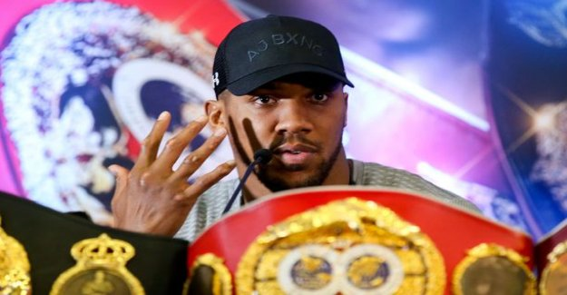 Mega star Anthony Joshua's opponent got any embarrassing moments doping - who's coming? Even Robert Heleniuksen name flashed heated spekulaatioissa
