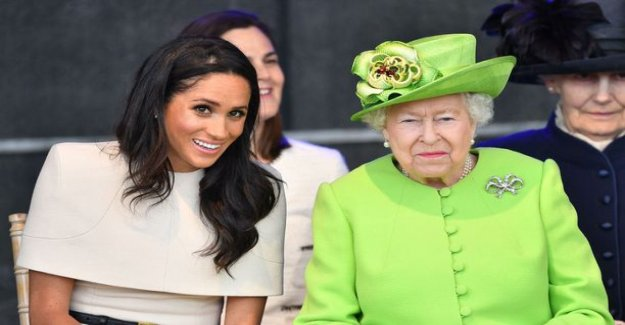 Meghan got to interview the queen Elizabeth overdose, they'd probably baby the party: the Royal don't do that