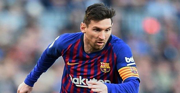 Messi tops löneligan – ladies long after