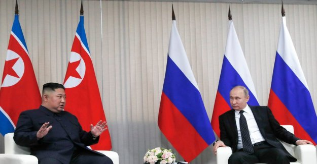 Michael Winiarski: Putin and Kim does not seem to agree on much