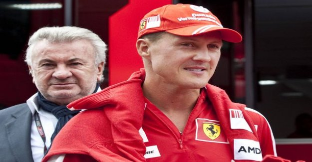 Michael schumacher's ex-manager was furious Bernie Ecclestone said: He's talking about Schumista, who can't defend himself