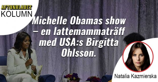 Michelle Obama's show full of kvinnofloskler