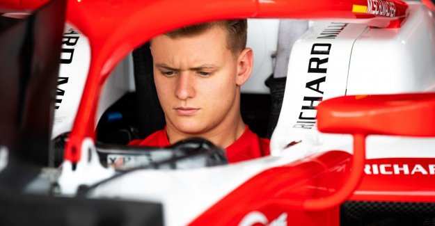 Mick Schumacher stood immediately second time in the first ride in a Ferrari: of Course, I've learned a lot from my father