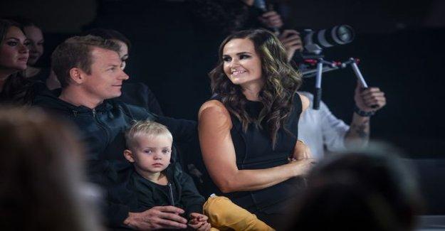 Mint Raikkonen posted a photo of Robin favorite hobby: like father, like son