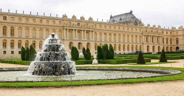Music festival at the palace of Versailles in the summer