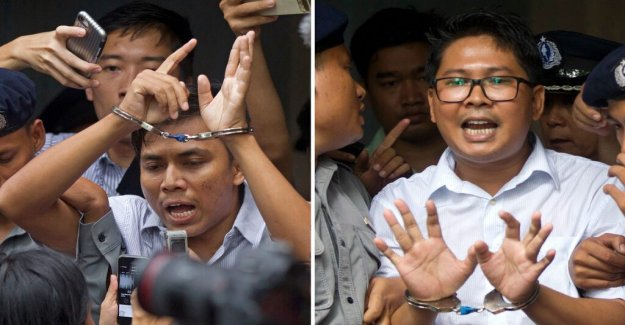 Myanmar HD rejects the appeal from the journalists