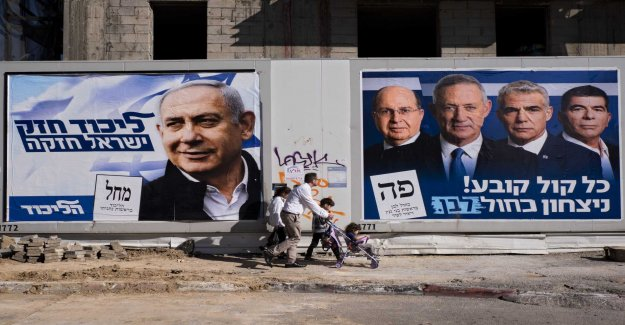Netanyahu is aiming for re-election in Israel