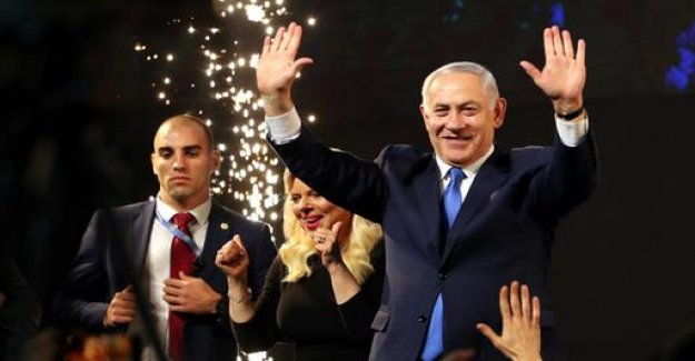 Netanyahu's Likud prior to the election victory in Israel