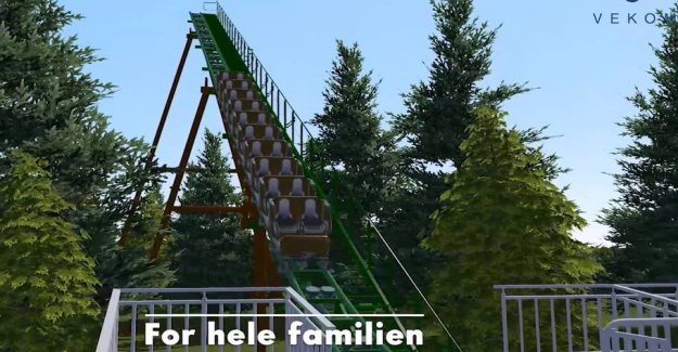 New roller coaster on the way: The first of its kind in Denmark