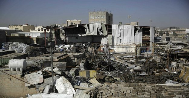 New saudisklett attacks against Sanaa